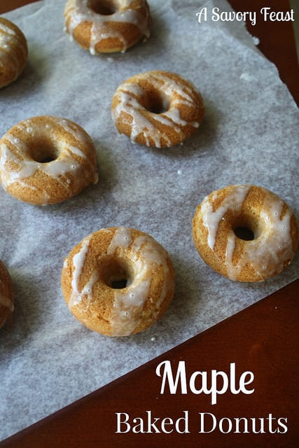 Maple Baked Donuts