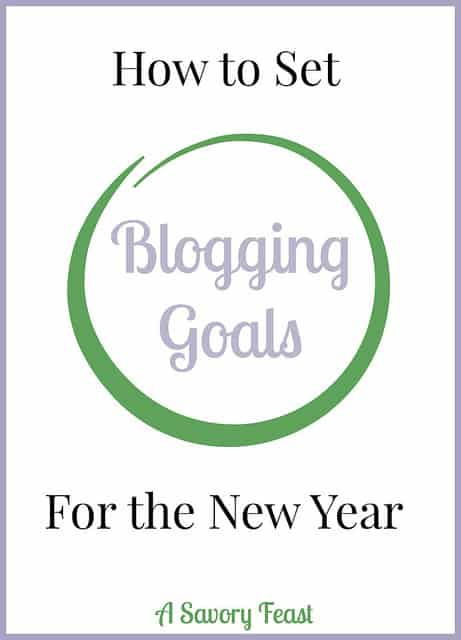 How to Set Blogging Goals for the New Year