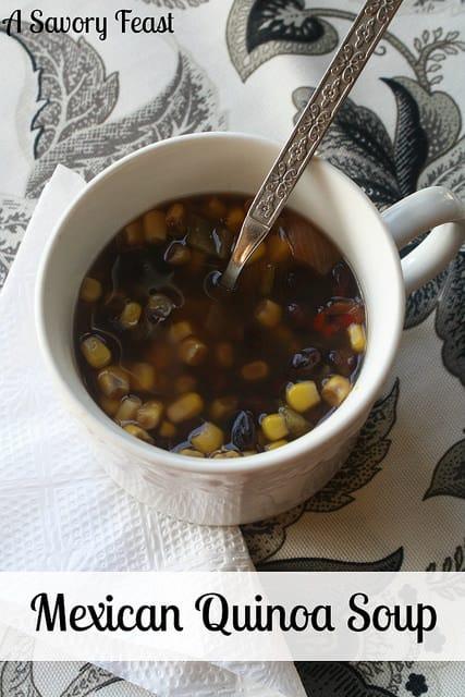 Mexican Quinoa Soup