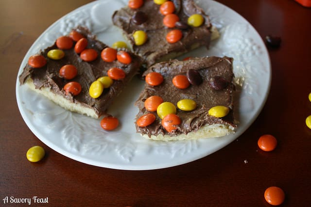 Reese's Shortbread Bar