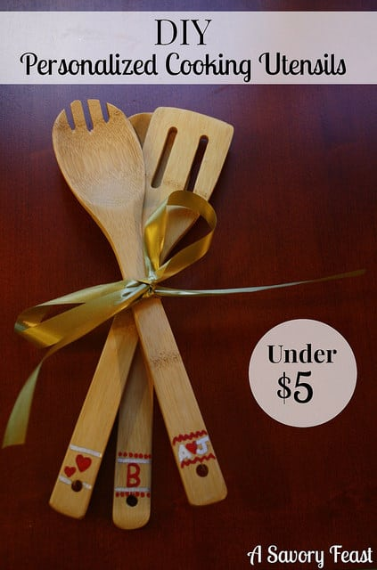 DIY Personalized Cooking Utensils
