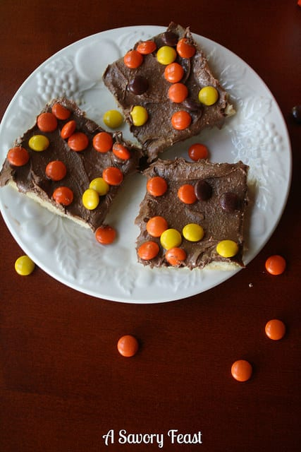 Reese's Shortbread Bars Recipe