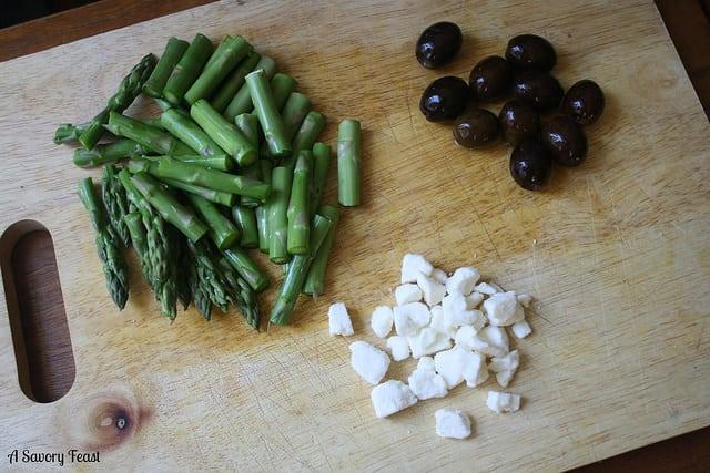Greek Frittata Ingredients