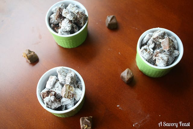 Snickers Puppy Chow