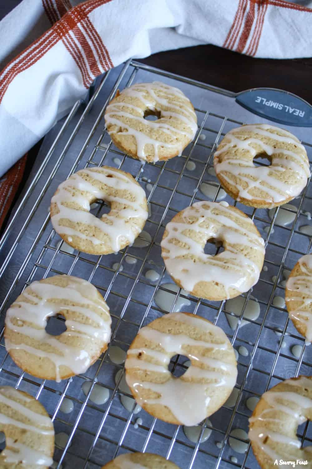 Try making homemade donuts with this recipe! Maple Baked Donuts.
