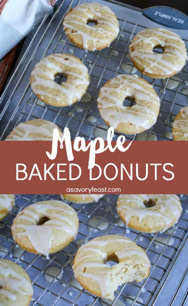 Making homemade donuts is lots of fun! Get a donut pan and try these Maple Baked Donuts. They are baked instead of fried and taste like a pancake in donut form.