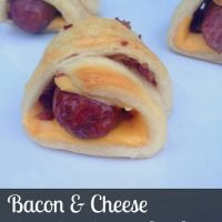 Bacon & Cheese Pigs in a Blanket