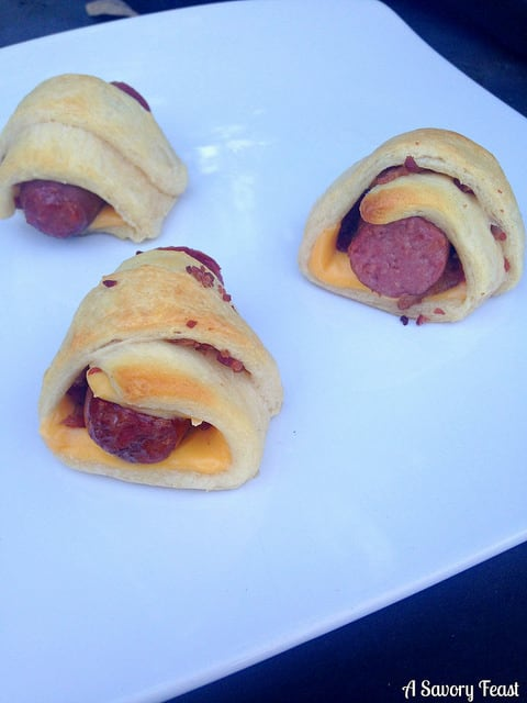 Bacon Cheese Pigs in a Blanket