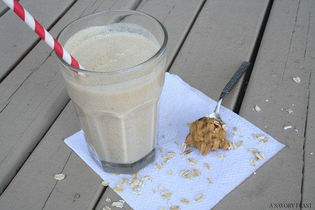 Peanut Butter Oatmeal Milkshake Recipe
