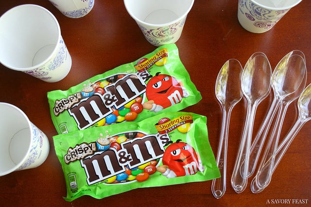 M&M's Crispy Recipe Idea