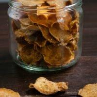 Parmesan Sweet Potato Chips