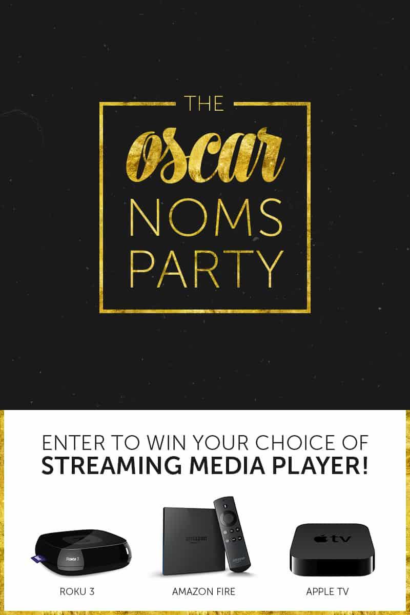 Oscar Noms Party Giveaway