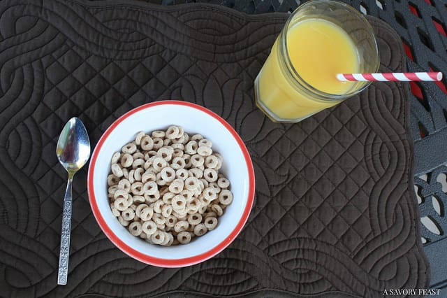 Cheerios Breakfast