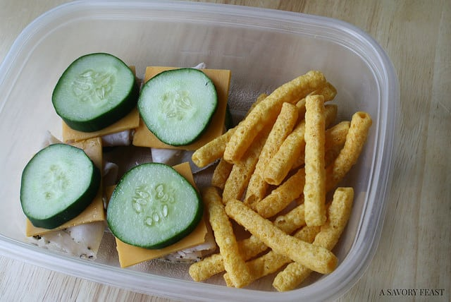 Healthy Packed Lunch Inspiration