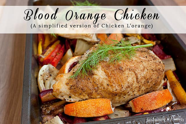 Blood Orange Chicken 2- Sustaining the Powers