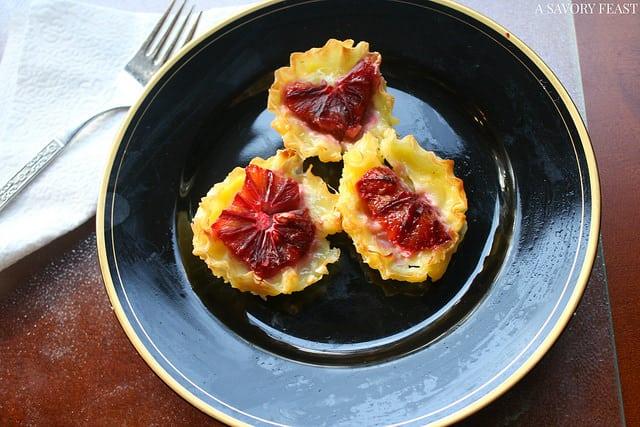 Blood Orange Custard Tart Recipe