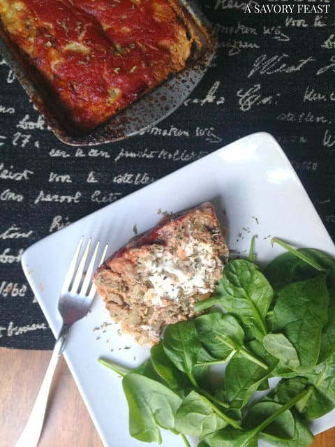 Bacon and Goat Cheese Stuffed Turkey Meatloaf Recipe