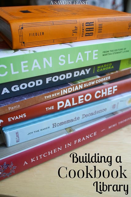 Building a Cookbook Library
