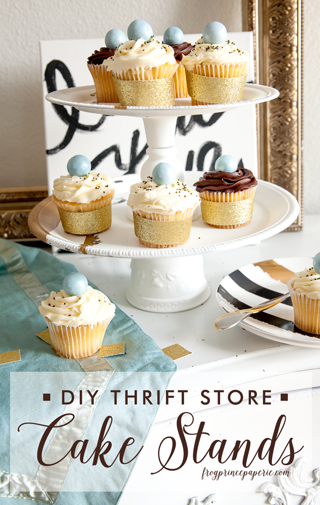 5 ways to save money on wedding food im also planning to make some of these diy thrift store cake stands from frog prince paperie to display the desserts on having a variety of heights and solutioingenieria Gallery