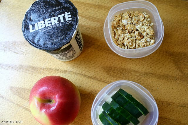 Healthy Packed Lunch Idea with Liberté