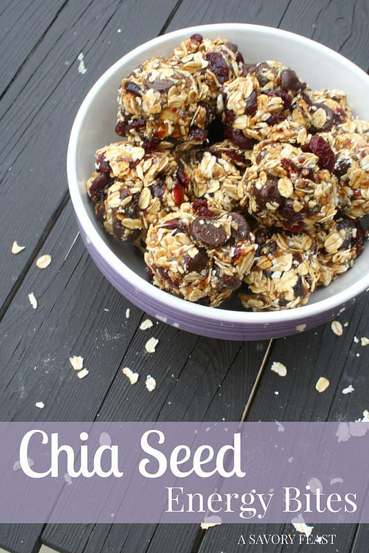 Chia Seed Energy Bites