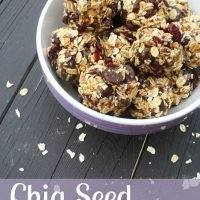 Chia Seed Energy Bites {Recipe Challenge Link Up}
