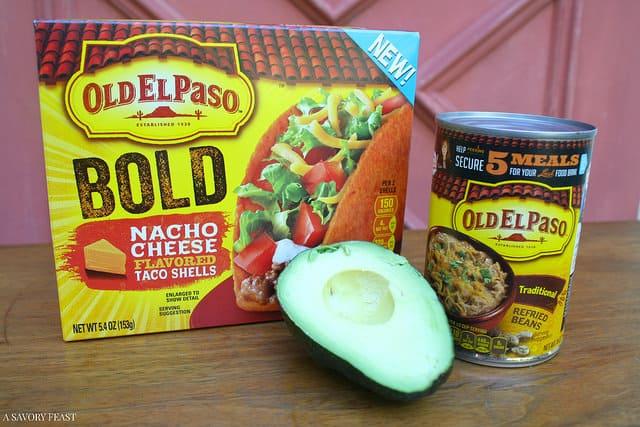 7 Layer Nachos Ingredients