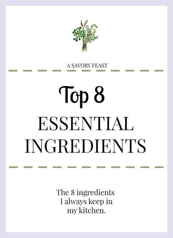 Top 8 Essential Ingredients