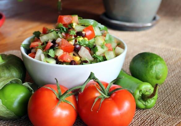 zesty southwest salsa