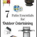 7 Patio Essentials for Outdoor Entertaining