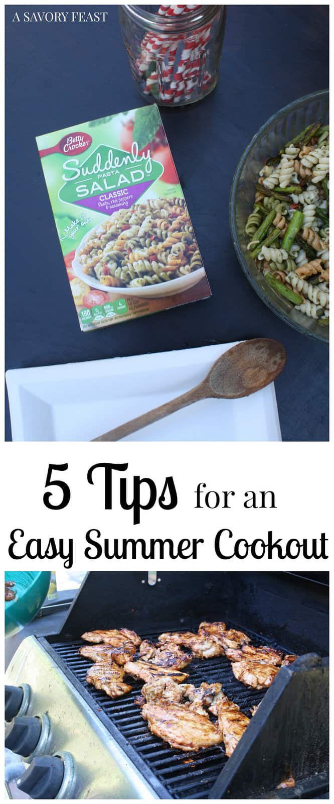 5 Tips for an Easy Summer Cookout