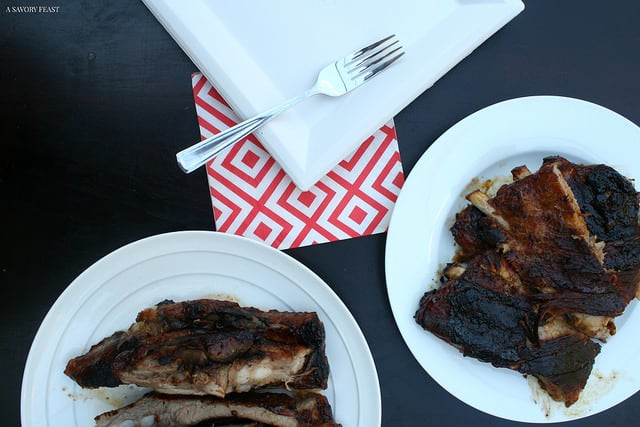Honey Bourbon BBQ Ribs Recipe