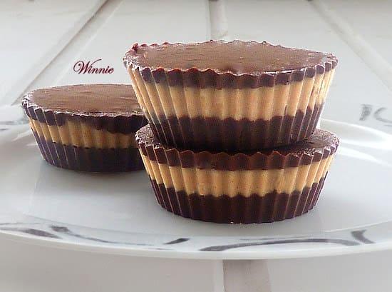 ממתק+שוקולד+וחמאה+בוטנים+-+ללא+אפייה-ח