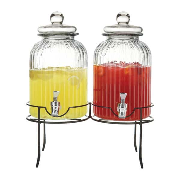 3 Piece Stella Beverage Dispenser Set