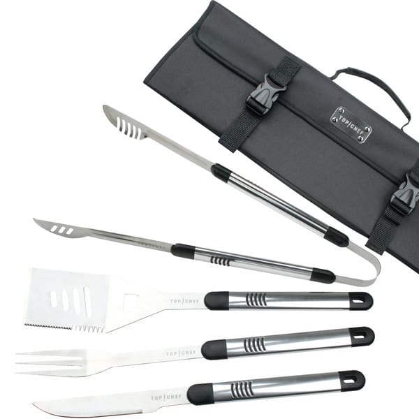 Stainless Steel 5 Piece BBQ Set
