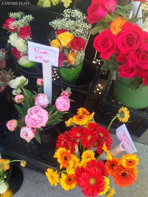 Sarasota Farmers Market Flowers