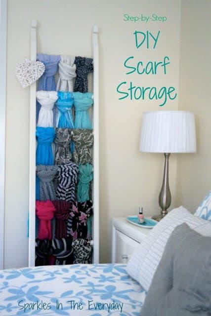 Scarf Storage with title 500x