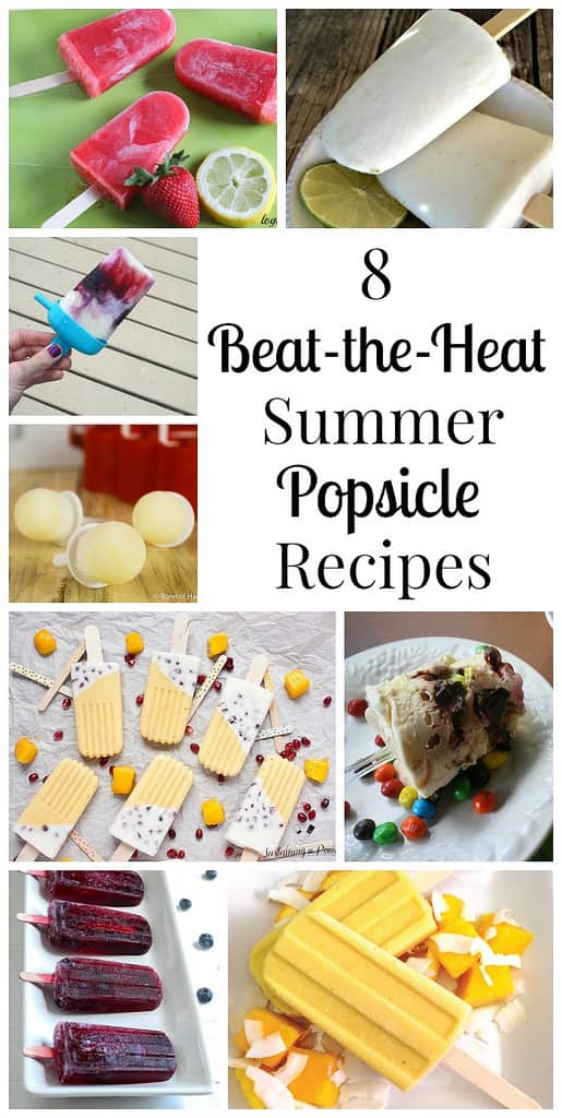 8 Beat-the-Heat Summer Popsicle Recipes
