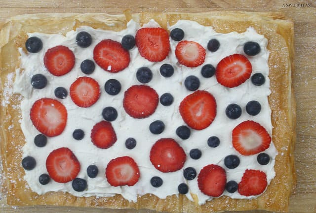 Berry Mascarpone Tart Dessert Recipe