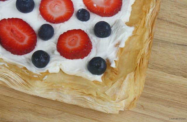Berry Mascarpone Tart Dessert
