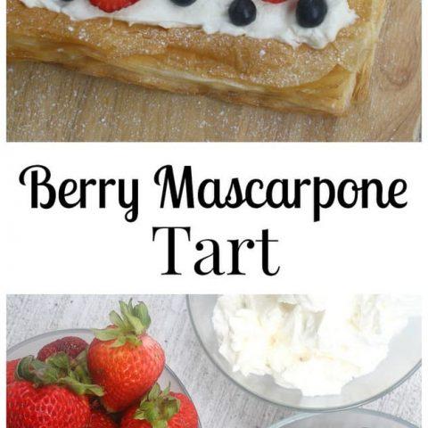Berry Mascarpone Tart