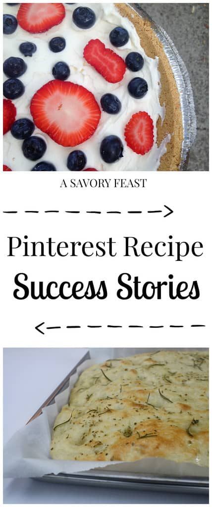Pinterest Recipe Success Stories