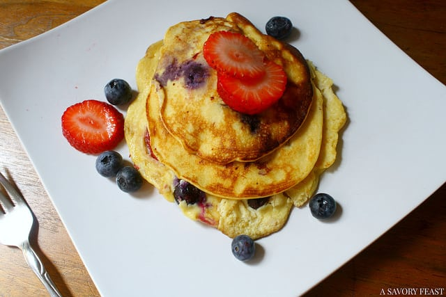 Coconut Flour Pancakes Gluten Free