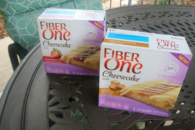 Fiber One Cheesecake Bars