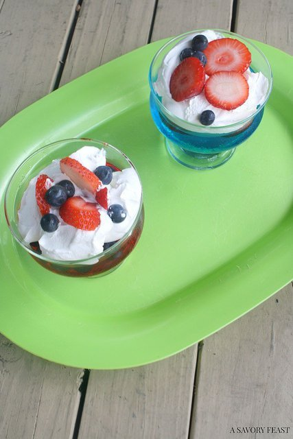 Easy Jello Fruit Cups