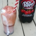 Dr Pepper® Cherry Ice Cream Floats