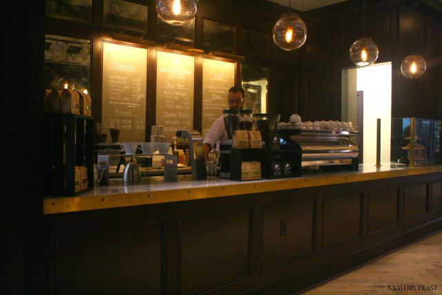 Oxford Exchange Coffee Menu