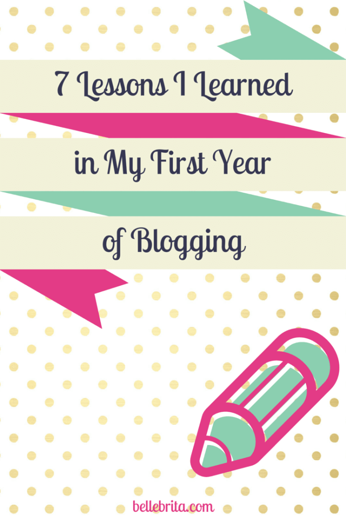 7-Lessons-first-year-blogging