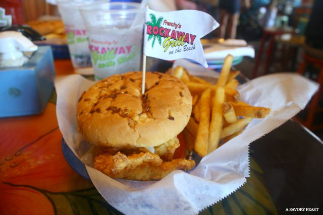 Frenchy's Grouper Sandwich