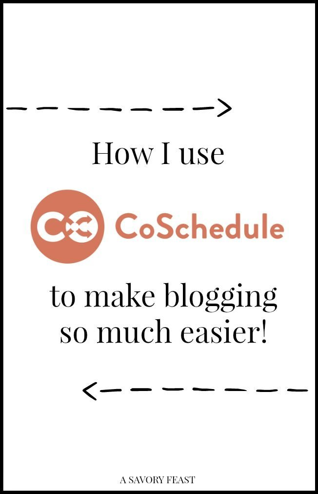 How I use CoSchedule to make blogging so much easier!